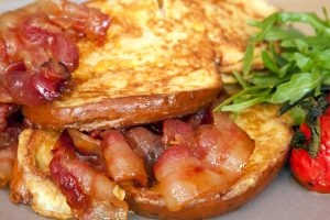 French Toast - Savoury Breakfast