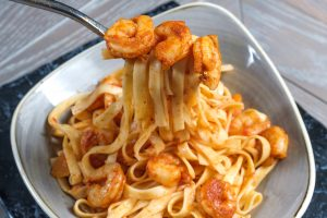 Prawn Pasta - Savoury Lunch and Dinner