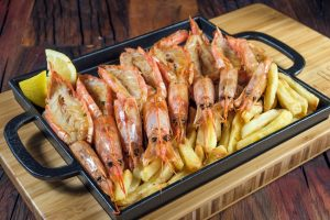 Queens Plate - Prawns Dinner or Lunch