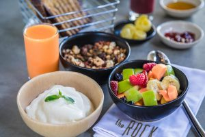 Granola and Fruit - Breakfast