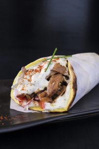 Chicken Gyro Wrap/Beef & Lamb Gyro Wrap - Lunch